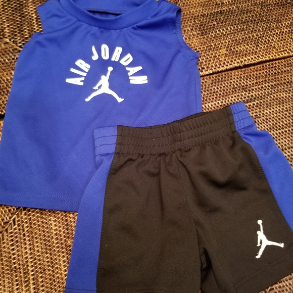 6dde97164 Air Jordan baby boy 2 piece tank and shorts set. M_5babb592bb7615c7a88b41ec